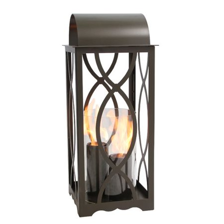 Augusta 32.5in. Lantern in - Collection Grecian Bronze Outdoor Lantern