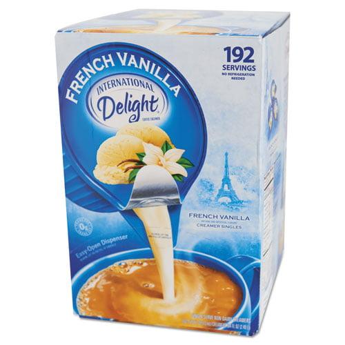 International Delight French Vanilla Creamer Singles, .5oz,192/CT - ITD100708