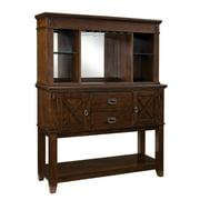Standard Furniture Sonoma Sideboard w/ Hutch in Oak