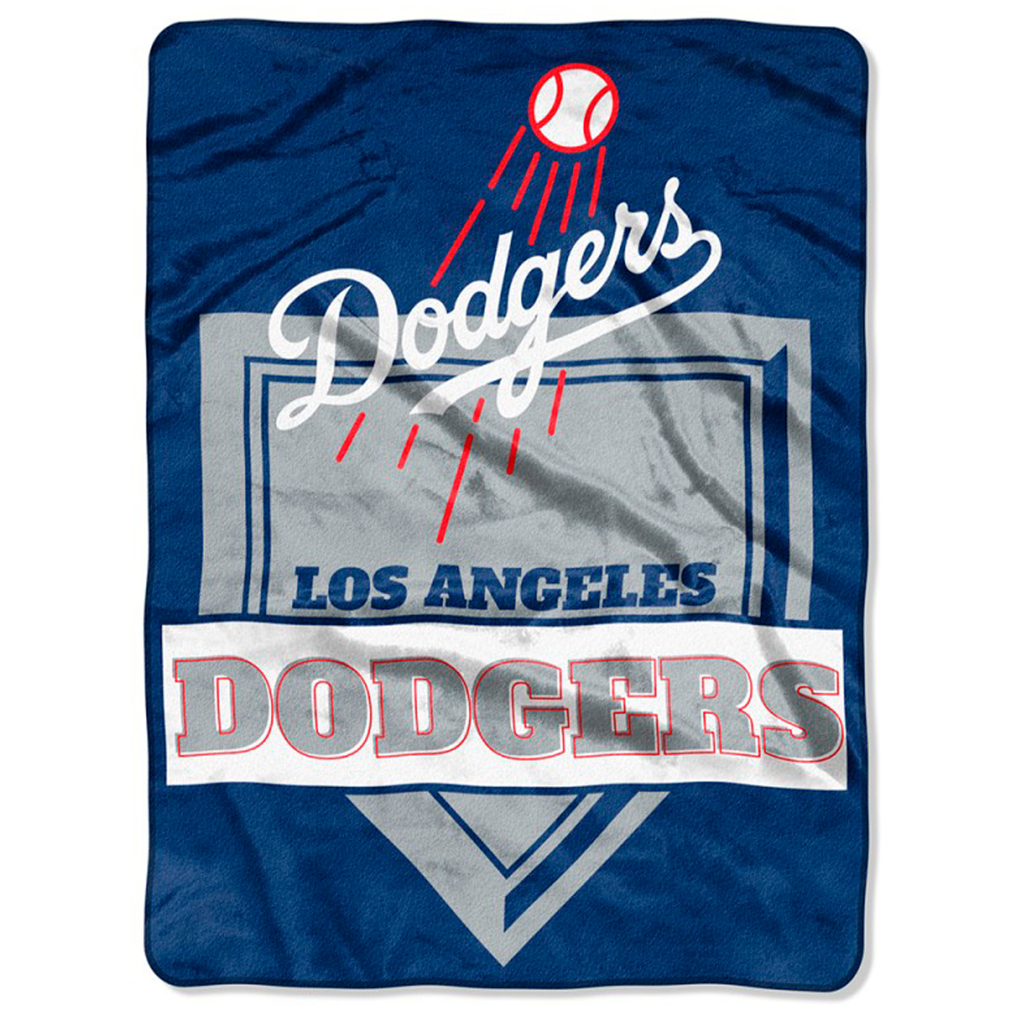 "Los Angeles Dodgers The Northwest Company 60"" x 80"" Home Plate Raschel Plush Blanket - No Size"