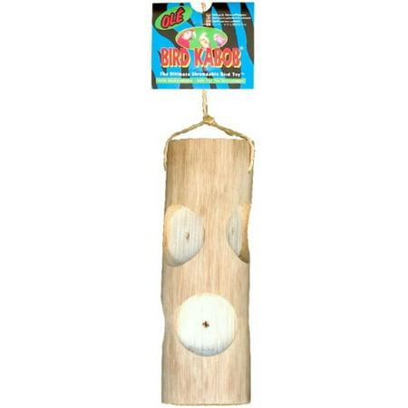 Wesco Pet Bird Kabob Shreddable Bird Toy Ole Natural Sisal 100  Biodegradable