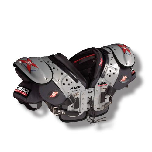 X2 AIR X-27F RB/DB/TE Football Shoulder Pads-Size:XLG