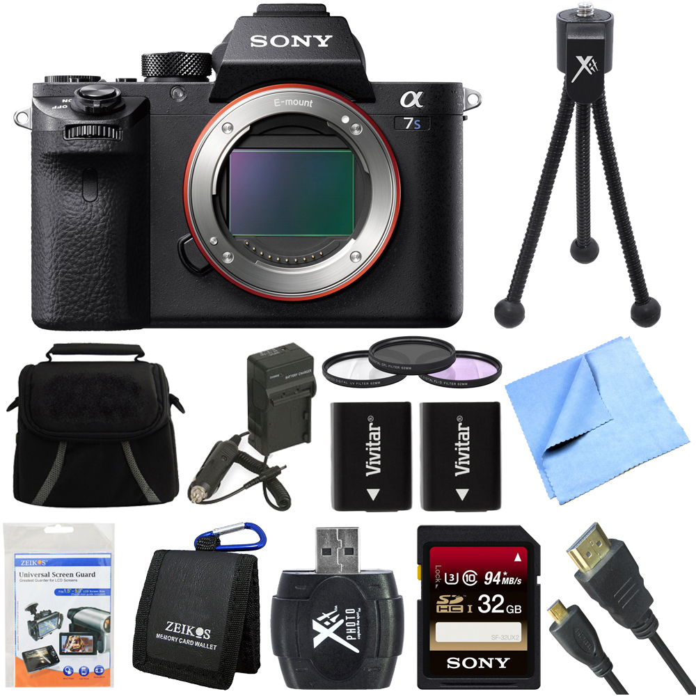 Sony a7S II Full-frame Mirrorless Interchangeable Lens Ca...