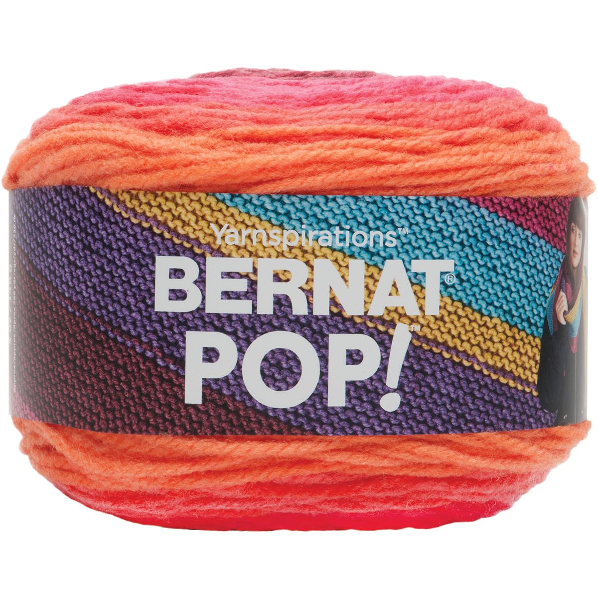 Bernat Pop! Yarn, 140g, Hot Chocolate