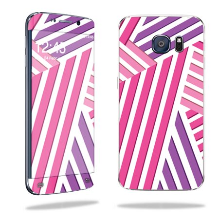MightySkins Protective Vinyl Skin Decal for Samsung Galaxy S6 Edge wrap cover sticker skins Lipstick
