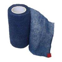 "SyrVet 4"" Syrflex Cohesive Flexible Bandage Blue"