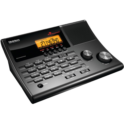 Uniden BC340CRS 100-Channel CRS Clock Radio Base Scanner