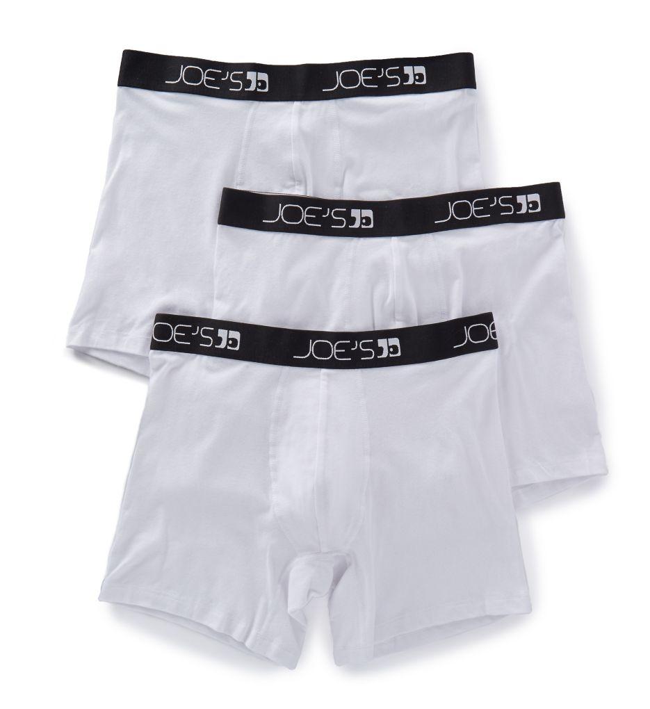 JOEs Jeans Underwear Cotton Stretch Trunks 52032 3 Pack