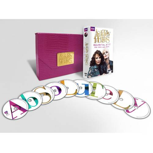 Absolutely Fabulous: Absolutely All Of It - The Complete Series (With Clutch Bag Packaging)