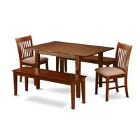 Wooden Importers Picasso 5 Piece Extendable Dining Set