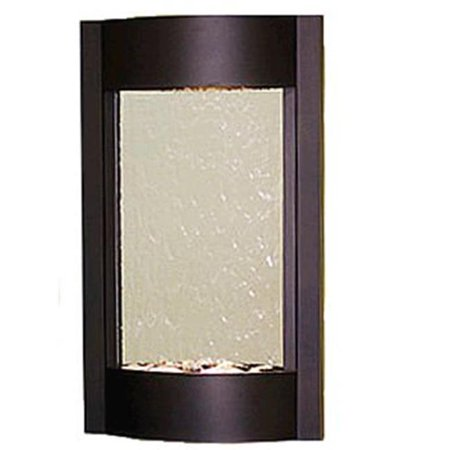 Adagio SWA3540 Serene Waters - Silver Mirror Wall Fountain