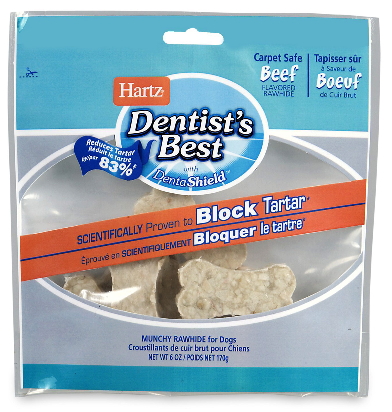 Hartz Dentist's Best Rawhide Munchy Dog Treat