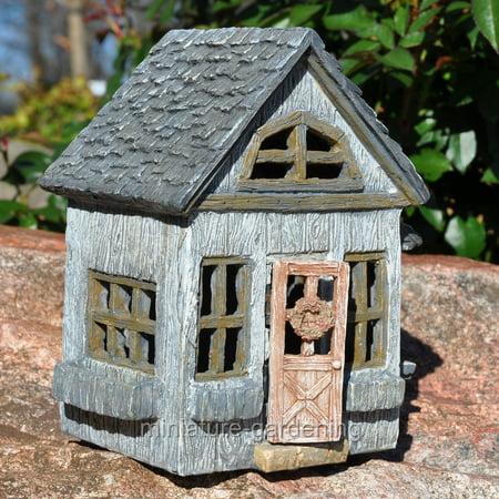 Miniature Willow Ridge Fairy House for Miniature Garden, Fairy Garden