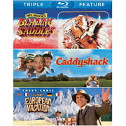 Blazing Saddles   Caddyshack   National Lampoons European Vacation (Blu-ray) by WARNER HOME ENTERTAINMENT