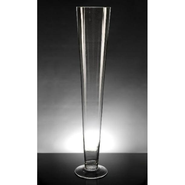 Tall Glass Pilsner 4 5 X 23 5 Pilsner Vases Walmart Com Walmart Com