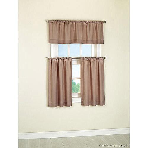Mainstays Microfiber Curtain Valance