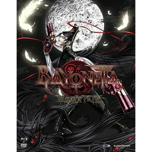 Bayonetta Bloody Fate Anime Movie Blu Ray Dvd Combo Blu Ray