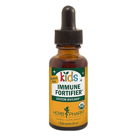 Herb Pharm Kids Immune Fortifier Herbal Formula For System Builder, Alcohol-Free, 1