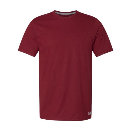 Russell Athletic Men's Essential 60/40 Performance T-Shirt, Style 64STTM Russell Athletic Ribbed T-shirt
