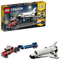 LEGO Creator 3in1 Space Shuttle Transporter Building Set 31091