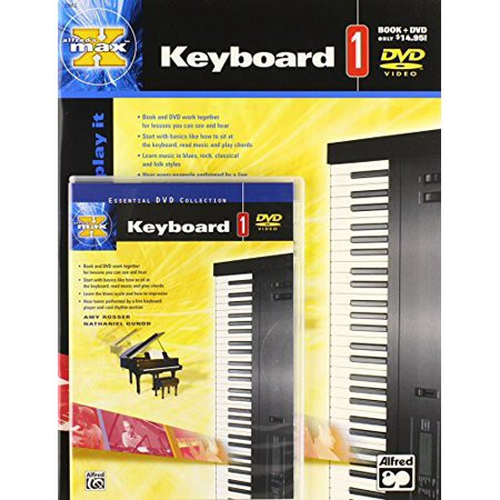 Alfred's Max Keyboard: Volume 1 (DVD) (Alfreds Max Keyboard)
