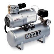 Gast Electric Air Compressor, 1LAA-25IT-M100X