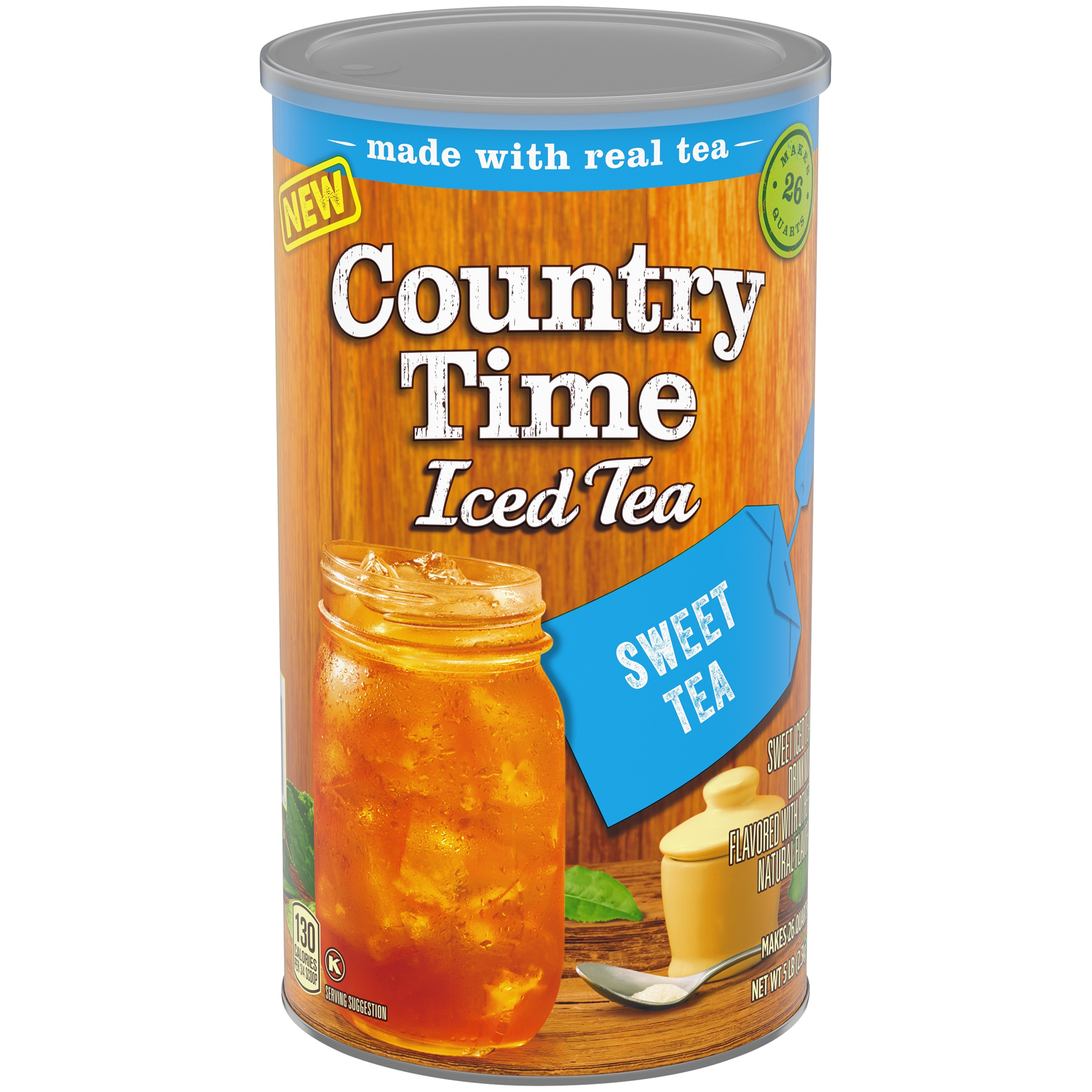 Country Time Sweet Iced Tea Drink Mix 5 lb. Canister