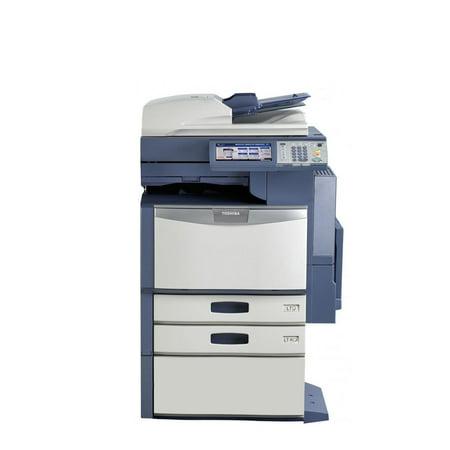 Refurbished Toshiba E-Studio 2330C A3 Color Laser Multifunction Copier - 23ppm, Copy, Print, Scan, Auto Duplex, Network-Ready, 600 x 600 dpi, 2 Trays, Cabinet