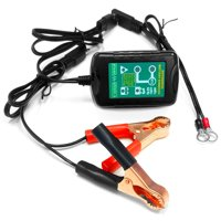 Kapsco Moto TCBC-0612 1.0A 12 to 6V Smart Battery Trickle Charger Maintainer