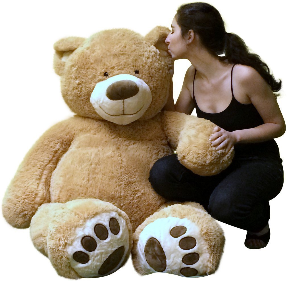 Big Plush Giant 5 Foot Teddy Bear Soft Ultra Premium Quality Hand Stuffed in USA, Ships in Big Box Weighs 17... by BigPlush