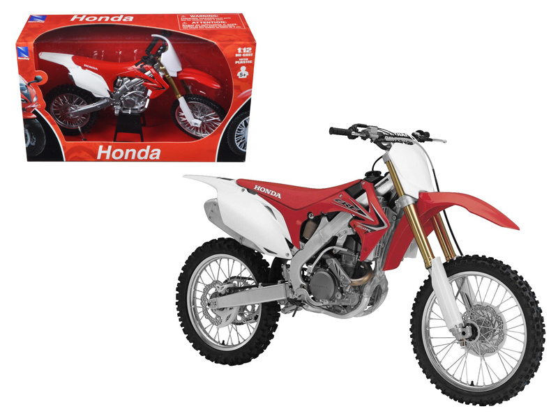 2012 Honda CR 250R Red Motorcycle Model 1 12 by New Ray by New Ray