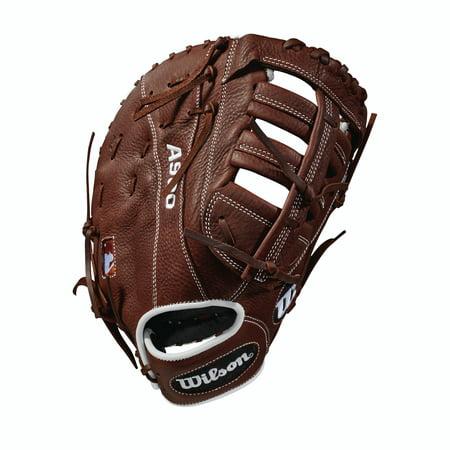 """Wilson 12"""" A900 Series Baseball First Base Mitt, Left Hand Throw"""
