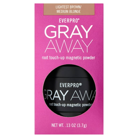 Everpro Gray Away Temporary Root Concealer Root Touch Up Magnetic Powder, Light Brown/Medium