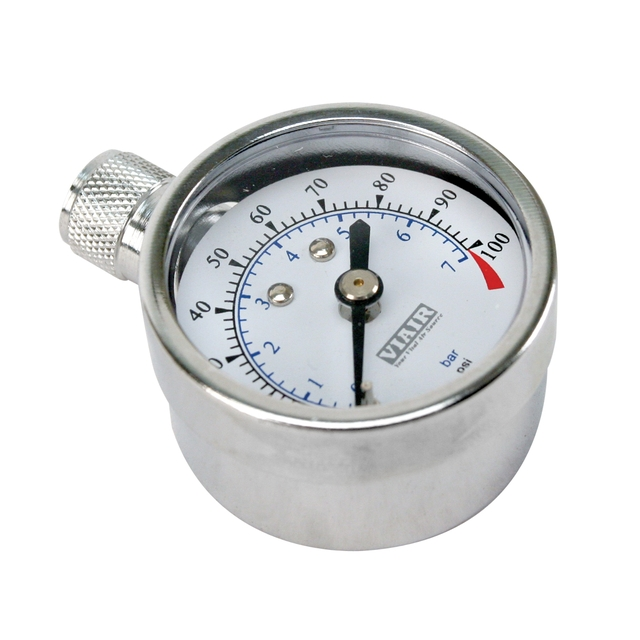 "VIAIR 1.5"" Tire Gauge, 0 to 100 PSI"