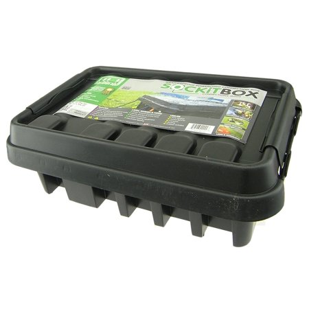 - SOCKiTBOX Model 330 BK Weatherproof Electrical Box, Large - Black
