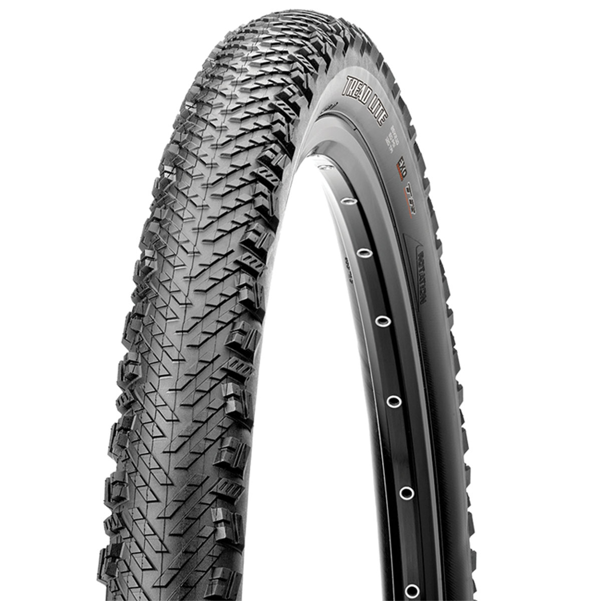Maxxis Tread Lite Dual Compound EXO Tubeless Ready Folding Bead 120TPI Bicycle Tire
