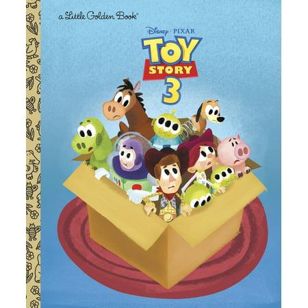 Little Golden Books (Random House): Toy Story 3 (Disney/Pixar Toy Story 3) - Toy Story Font