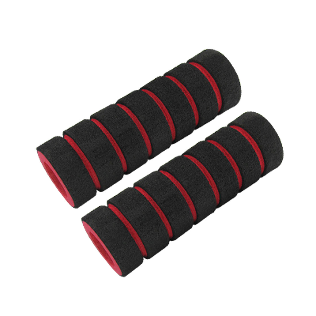 2 Pcs Bike Bicycle Handlebar Grips Antislip Sponge Cover Universal