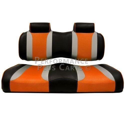 Yamaha Drive Tsunami Golf Cart Front Seat Cushion Set - B...
