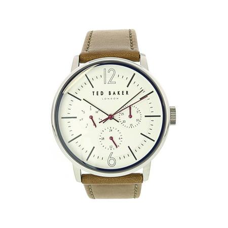 Ted Baker Men's Jason TE15066004 Brown Leather Japanese Quartz Fashion Watch