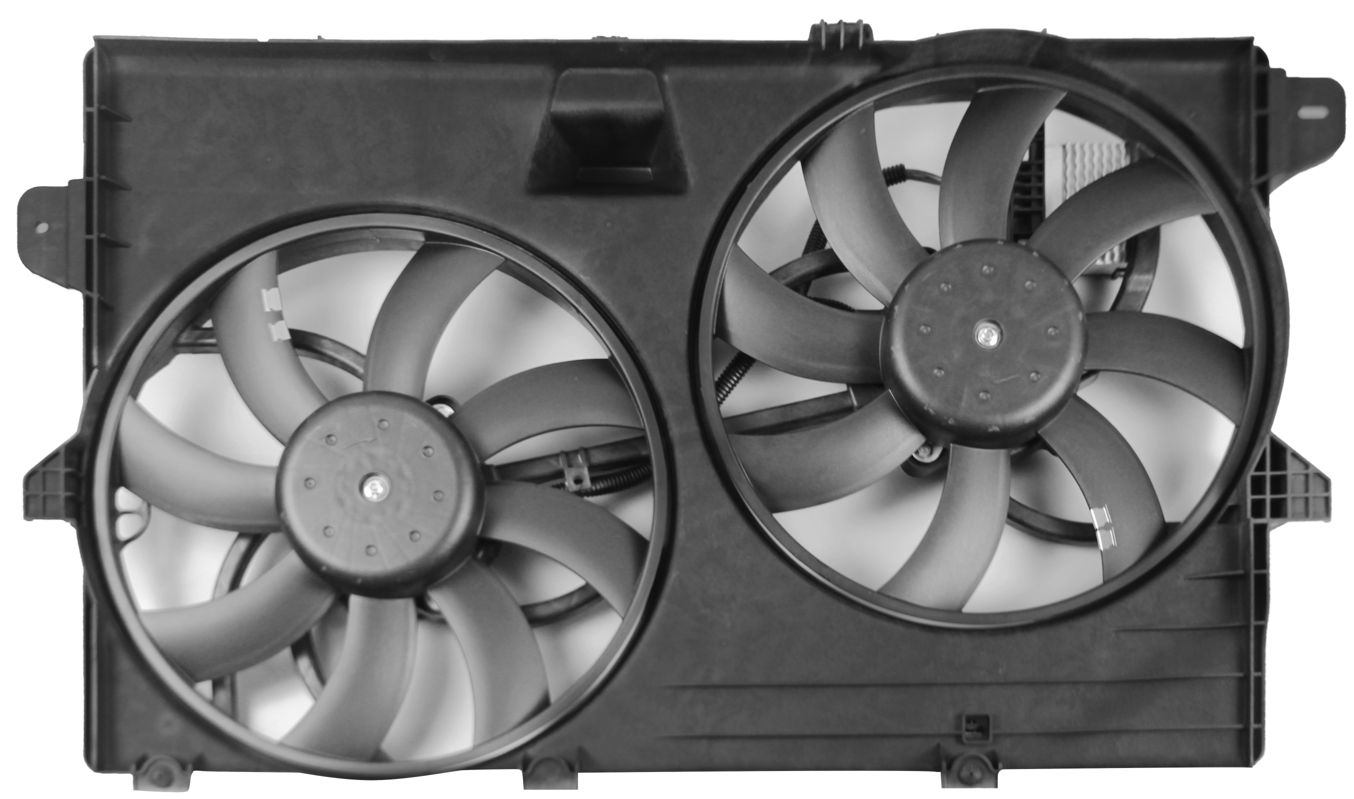 Radiator Cooling Fan Dual Assembly for Ford Edge Lincoln MKX Tow Package