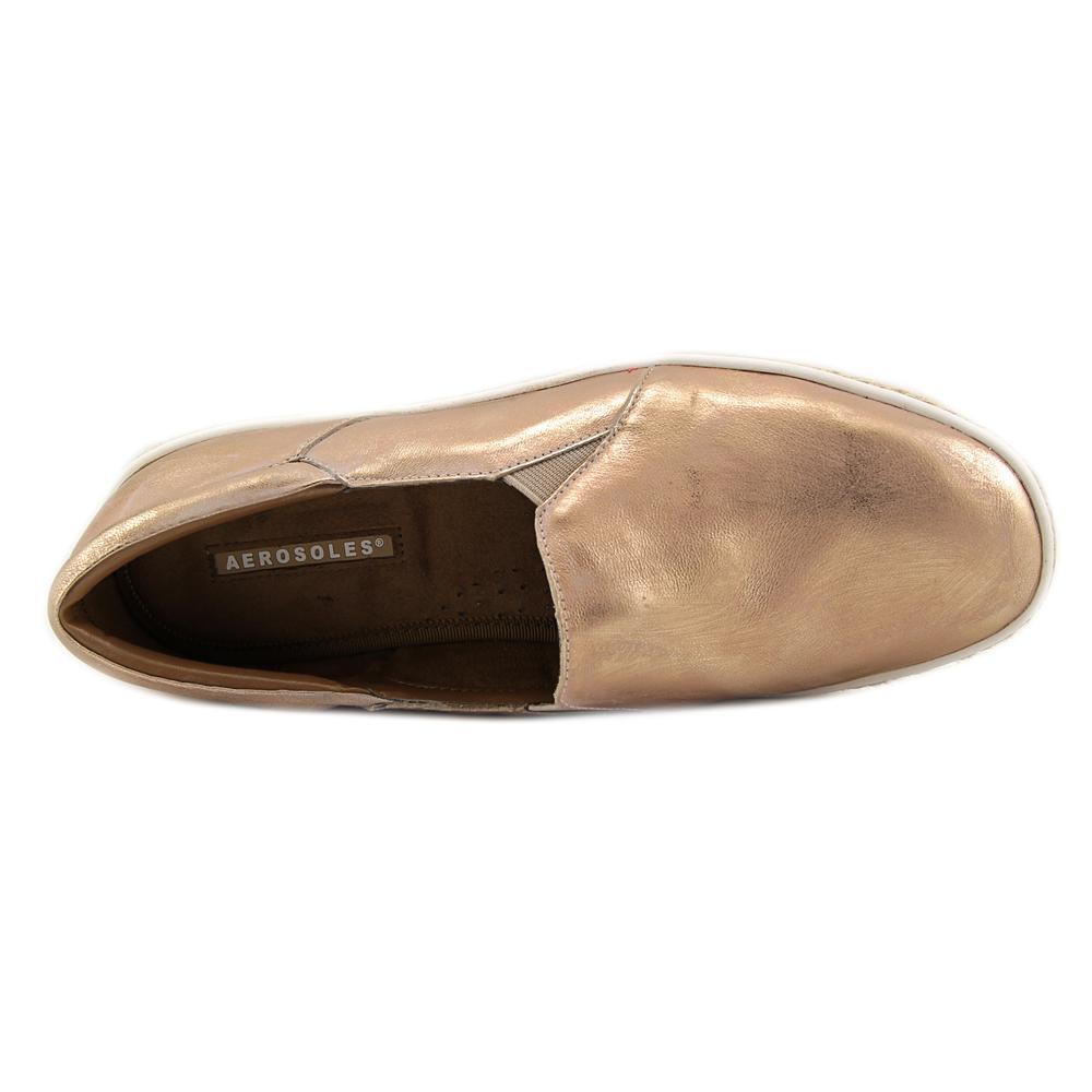 Aerosoles Fun Fact Women  Round Toe Leather  Loafer