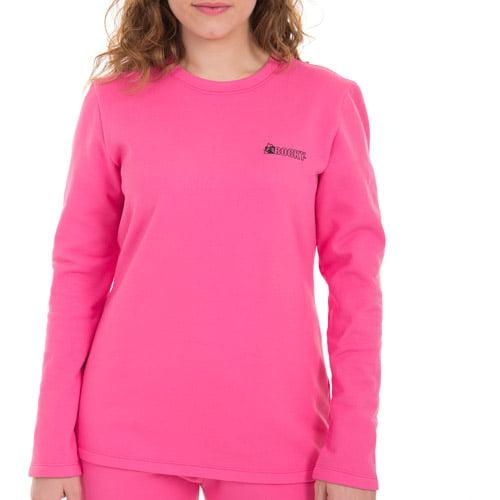 Rocky Women's Heavyweight Fleece Thermal Underwear, Pink - Walmart.com