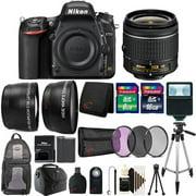 Nikon D750 24.3MP Digital SLR Camera No Wifi + 18-55mm Top Accessoy Bundle