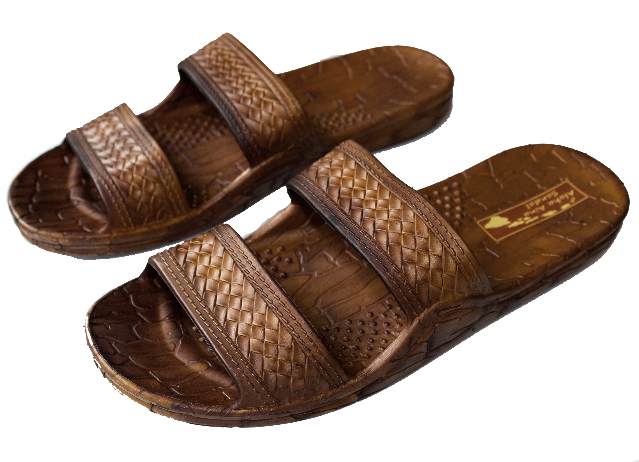 9ca80ff6f794 Aloha aina sandals hawaii brown or black jesus sandal slipper for men women  and teen classic