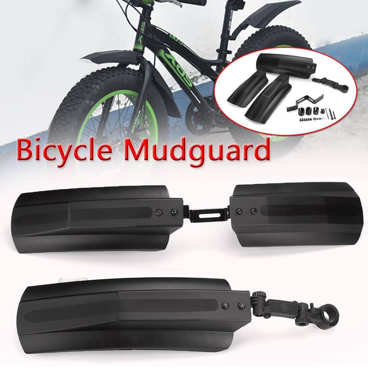 SolUptanisu ycle Fenders Mudguard Set,Wake Front Rear Mudguard Fender Set Mudguard Bike Mud Guard Fender for Cycling Mountain Road Bike MTB Mountain Bike F05