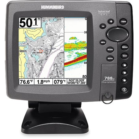 Humminbird 788ci internal gps combo for Fish finder walmart