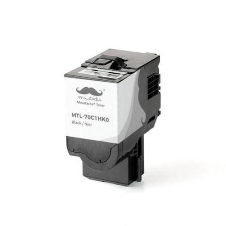 Lexmark 70C1HK0 Compatible Black Toner Cartridge High Yield for Lexmark CS310N CS310dn CS410N CS410dn CS410dtn CS510de CS510dte - Moustache® - image 3 de 3