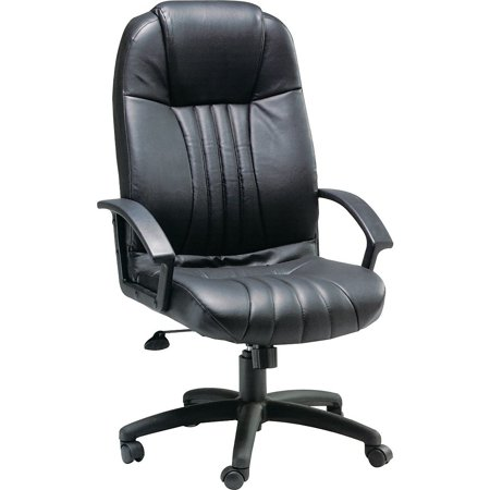 Staples QB LEATHER EXEC CHAIR 466456 - Exec Stitching Leather