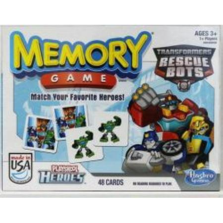Transformer Rescue Bots Memory Classic Game